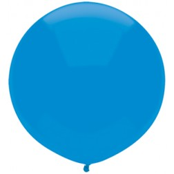 """17"""" Outdoor Display Balloons Bright Blue 72ct"""