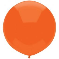 "17"" Outdoor Display Balloons Bright Orange 72ct"