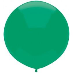 "17"" Outdoor Display Balloons Deep Jade 72ct"