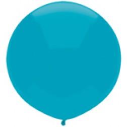 "17"" Outdoor Display Balloons Island Blue 72ct"