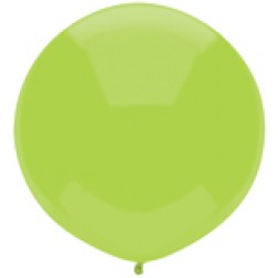 "17"" Outdoor Display Balloons Kiwi Lime 72ct"
