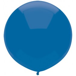 """17"""" Outdoor Display Balloons Midnight Blue 72ct"""