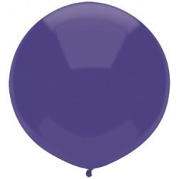 "17"" Outdoor Display Balloons Regal Purple 72ct"