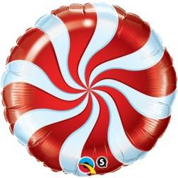 "18"" Candy Swirl Red"