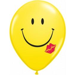 "11"" A Smile & A Kiss Yellow 50Ct"