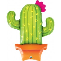 """39"""" Potted Cactus (pkgd)"""