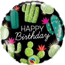 "18"" Birthday Cactuses (pkgd)"