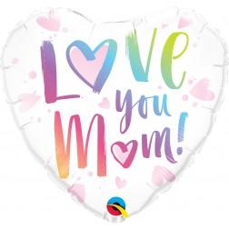 """18"""" Love You M(Heart)m! (pkgd)"""