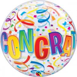 """Bubble 22"""" Congratulations Around"""