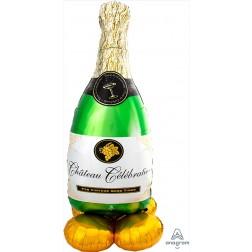 CI: Airloonz Large Bubbly Wine Bottle