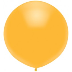 """17"""" Outdoor Display Balloons Radiant Gold 72ct"""