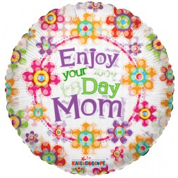 "09"" SV ENJOY YOUR DAY MOM CLEAR VIEW"