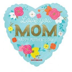 """18"""" SP: PR Love You Mom Flowers"""