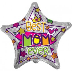 "18"" SP: PR ILY Mom Gold & Pink"