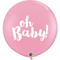 3' Oh Baby! Pink (2 ct.)