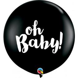 3' Oh Baby! Onyx Black (2 ct.)
