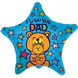 "09"" SV Love You Papa Bear"