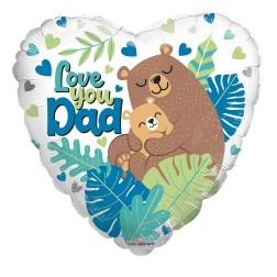 "18"" SP: PR Love You Dad Bears"