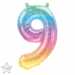 """16"""" Number 9 Jelli Ombre (pkgd)"""