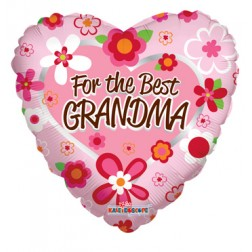 """18"""" SP: FOR THE BEST GRANDMA"""