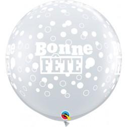 3' Fete Confetti Et Pois-A-Rnd Diamond Clear   (2 ct.)