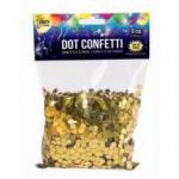 Dot Confetti Gold 4oz