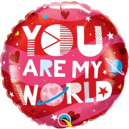 """18"""" You Are My World"""