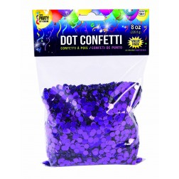 Dot Confetti Purple 8oz