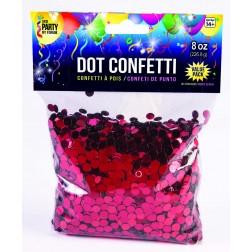 Dot Confetti Red 8oz