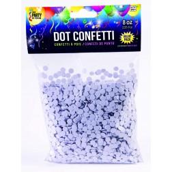 Dot Confetti White 8oz