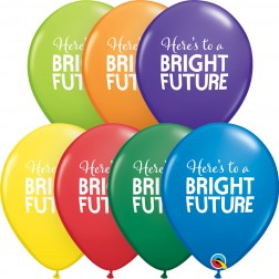 """11"""" Simply Bright Future Carnival Asst. (50 ct.)"""