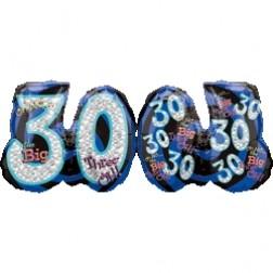 SuperShape Oh No! It's My Birthday 30