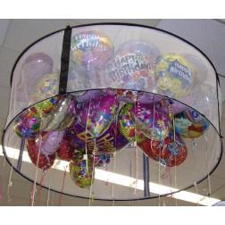 6ft White Balloon Corral