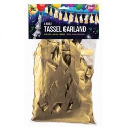 Balloon Tassel Gold Matte