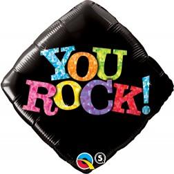 """18"""" You Rock! Black Diamond"""