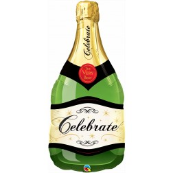 """39"""" Celebrate Bubbly Wine Bottle"""