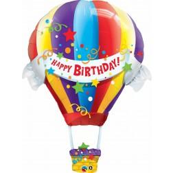 "42"" Birthday Hot Air Balloon Shape"