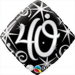 "18"" 40 Elegant Sparkles & Swirls Diamond"