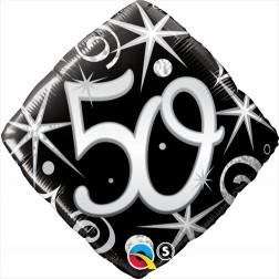 "18"" 50 Elegant Sparkles & Swirls Diamond"