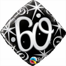 "18"" 60 Elegant Sparkles & Swirls Diamond"