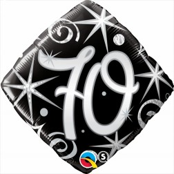 "18"" 70 Elegant Sparkles & Swirls Diamond"
