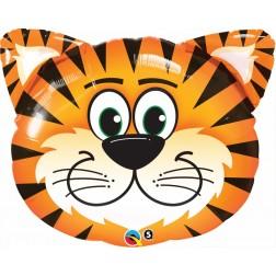 """30"""" Tickled Tiger Shape"""
