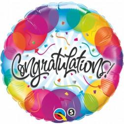 """18"""" Congratulations Balloons"""