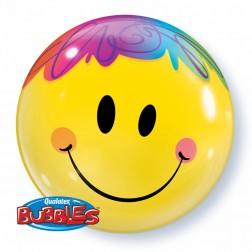 """Bubble 22"""" Bright Smile Face"""