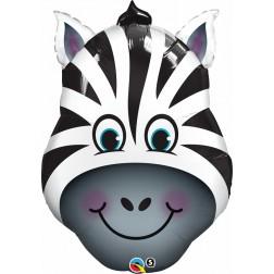 "32"" Zany Zebra Shape"