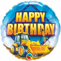 "18"" Birthday Construction Zone"