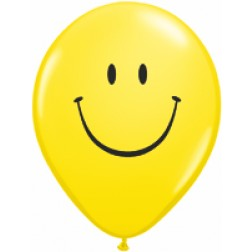 """05"""" Smile Face Yellow w/Black Ink 100Ct"""