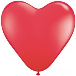 """06"""" Red Heart 100Ct"""