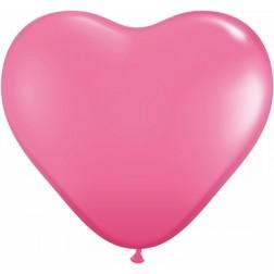 "11"" Rose Heart 100Ct"