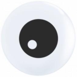 "05"" Friendly Eyeball Topprint White 100Ct"